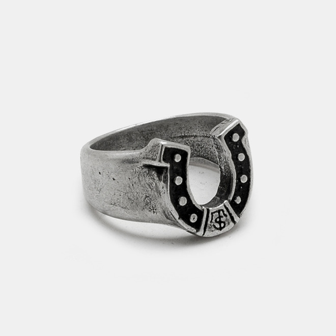 [Studio Edition] Horse shoe Silver Ring