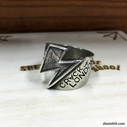 [STOCK -40%] Crack Of London x Triplesix Collaboration Rings 18호
