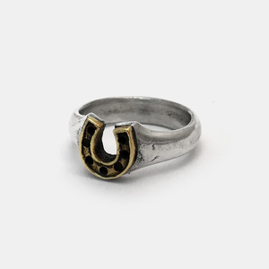 Small Horse Shoe Ring