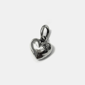 Trump Series Silver Pendant Heart