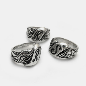 [Studio Edition] Initial Snake Ring