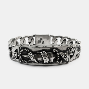 [Studio Edition] Dagger Bracelet Reissue 15yrs Full Silver