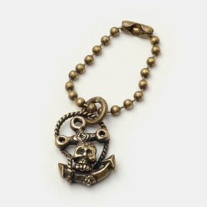 Anchor Ball chain Key Holder