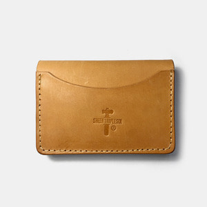 575 #056 Card Holder Cow Leather natural