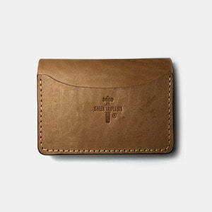 575 #058 STND Card Holder Horse Leather natural