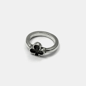Trump Series Silver Ring Clover Ver.2