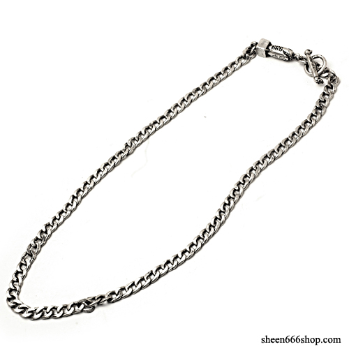 576 small Chain Silver Necklace with Bomb