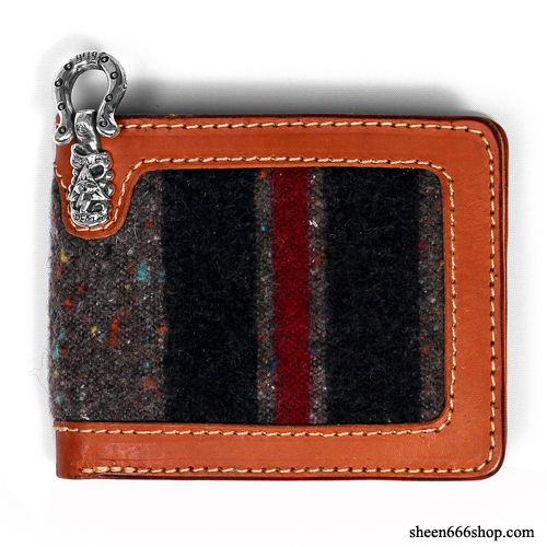 575 Leather Wallet #034 Blanket Billfold