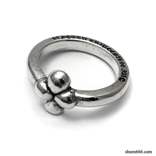 Trump Series Silver Ring Clover Ver.1