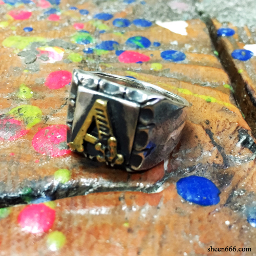 "Initial Mexican Combi Ring ""A"""
