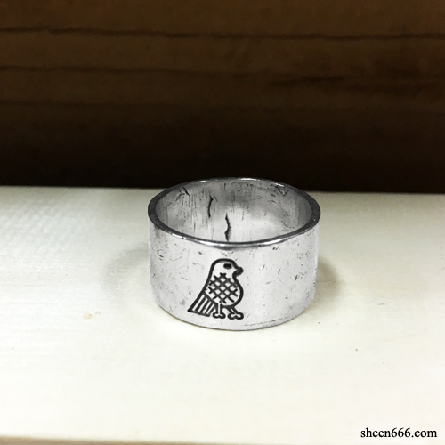 Bird Logo Engraving Thin Spacer