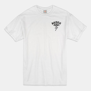 [예약할인] Fxxk You T-Shirts white/black